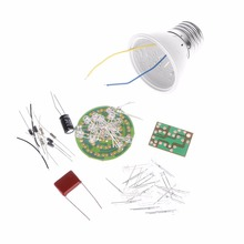 1 Set Luminaria Energy-Saving 38 LEDs Lamps DIY Kits Electronic Suite Hot Abajur Para Quarto De Crianca