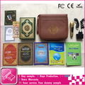 new holy quran read pen with leather bag and 4gb memory