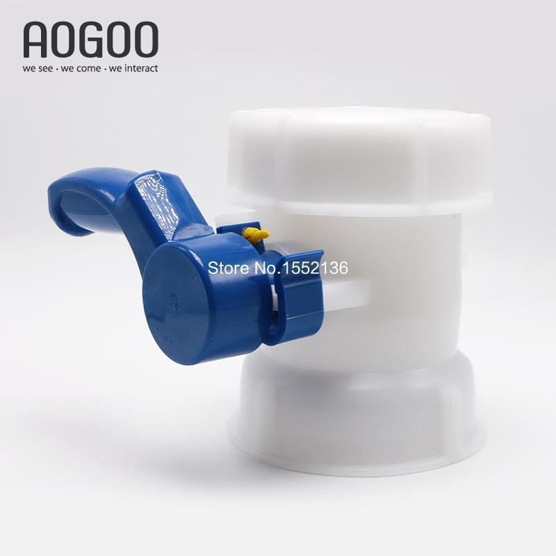 IBC Tank Container Inlet 4Inch 100mm To Outlet DN80 Butterfly Valve ibc water tank 62mm dn40 screwable ball valve square coarse thread