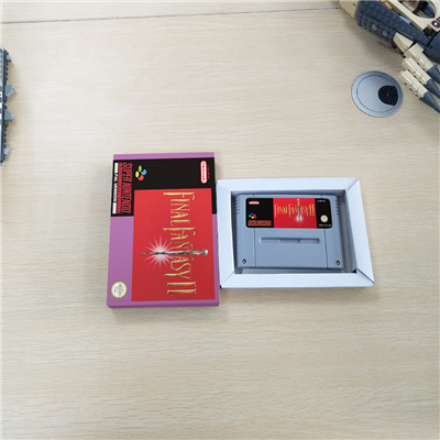 Final Fantasy II With Retail Box RPG Game Battery Save EUR Version image
