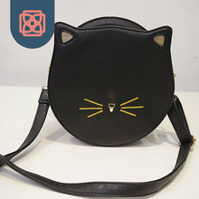 Кошка форма женщины сумка лето маленький кошелек