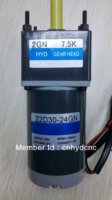 ФОТО DC motor( DC24V, 3000RPM, 30W)