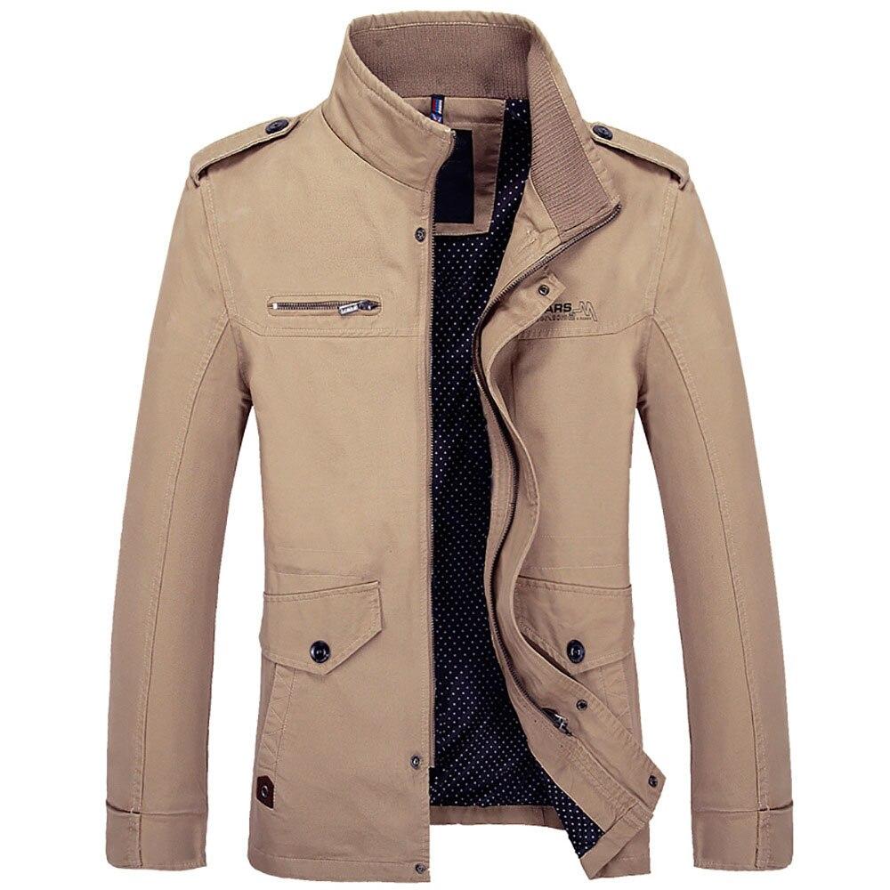 Nouveau hommes veste printemps concepteur de mode col montant mâle 5XL mince gros coton décontracté manteau hommes vêtements d'extérieur AF9780