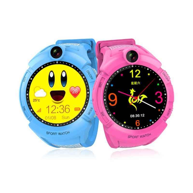 Q360 Russian language Children Smart Watch LBS Location 1.4 Inch Touch Screen Wristwatch Wearable Device