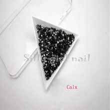 1000 pcs 3mm ss12 AB crystal Calx round resin rhinestone Flatback rhinestones 14 faces DIY nail decorative beads N21