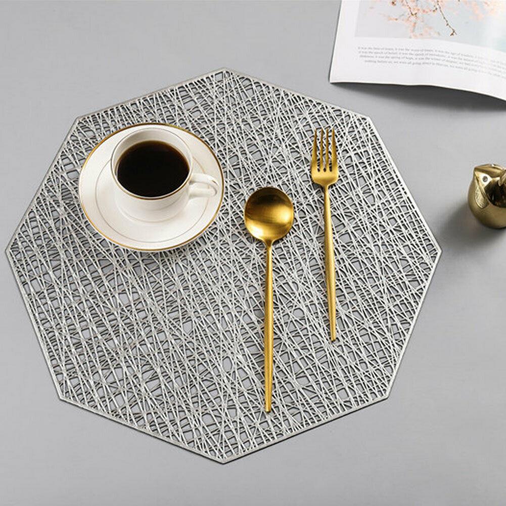 1 коврики для ПК домашний коврик-подставка для еды чашки подставки для кофе коврики нескользящее украшение кухонного стола аксессуары - Цвет: B1