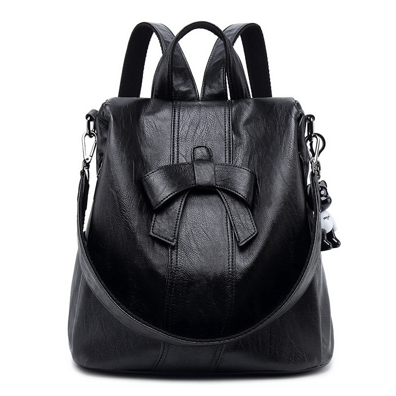 Cowhide Backpack Rucksack Genuine Leather Vintage Ladies Travel Daypack School Bags for Teenager Girls mochila bolsas New C797