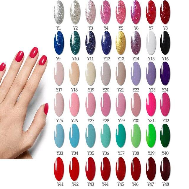 54W48W Led UV Nail Lamp Nail Manicure Set Acrylic Nail Extension Kit 6 Color Gel Nail Polish Set UV Gel for Manicure 3
