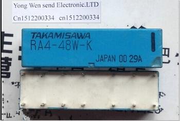 HOT NEW RA4-48W-K relay RA4-48W RA4 48W 48VDC DC48V TAKAMISAWA relay DIP14