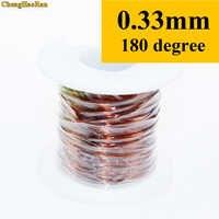 ChengHaoRan 0.33mm QZY-2-180 1 m Poliestere immide filo Ad Alta temperatura resistente Filo di Rame smaltato 1 metro