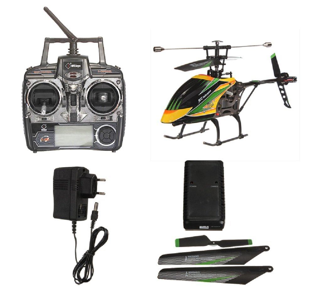 <font><b>WLtoys</b></font> <font><b>V912</b></font> Sky Dancer 2.4G 4CH <font><b>RC</b></font> <font><b>Helicopter</b></font> RTF with Videography Function Remote Control Toys For Children image