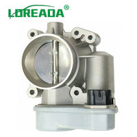 LOREADA 12568796 New Throttle Body Assembly with Actuator for Chevy Pontiac Chevrolet Malibu Saab 9 3 Cobalt Saturn Vue