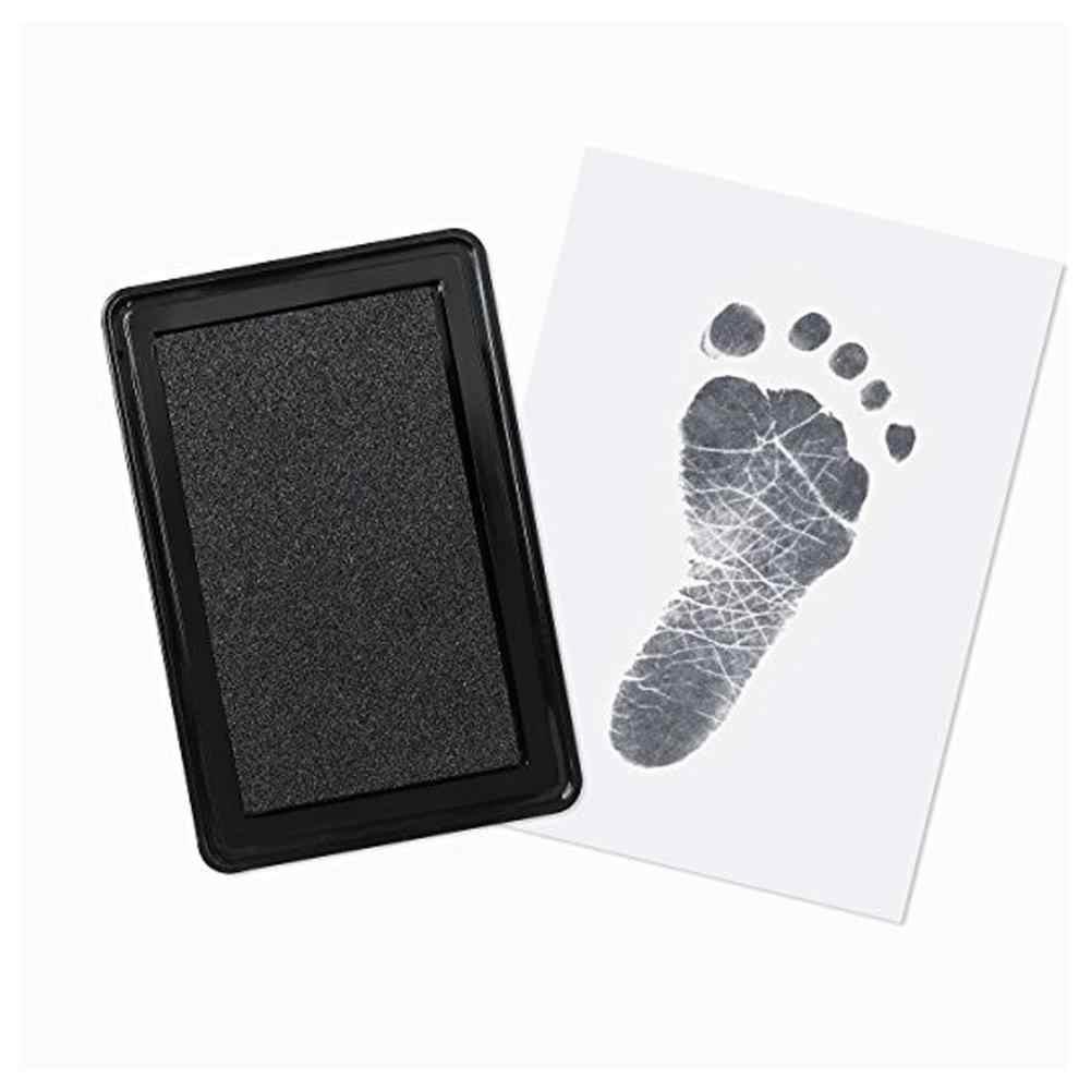 Bébé main pied encre Handprint huile Souvenir nouveau-né cent jours cadeau sûr tampon d'encre Non toxique bébé empreinte Kit Souvenir