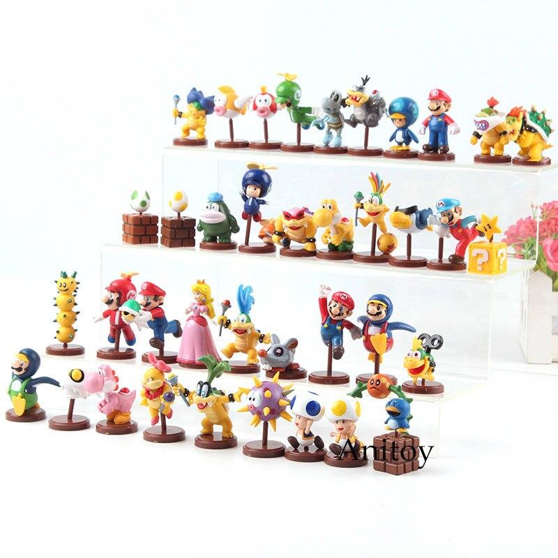 Furuta Super Mario Bros Koopa Bowser JR Mario Luigi Peach