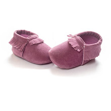 infant shoes light purple baby moccasins newborn baby shoes 0~18month for baby girls boys bx163