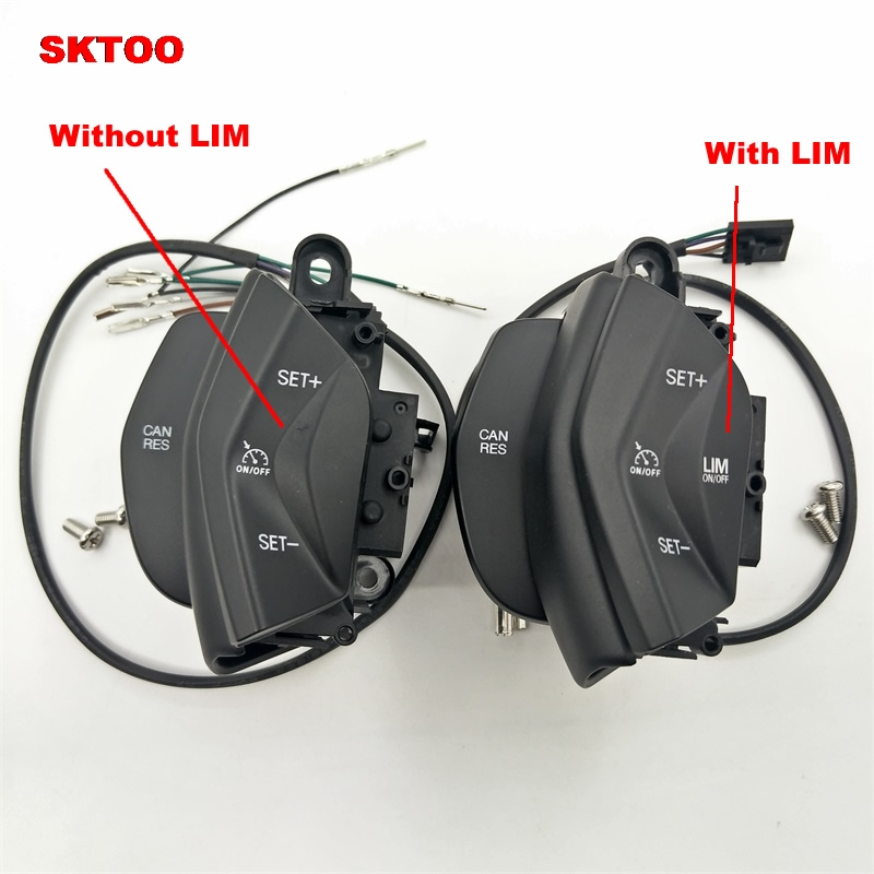 SKTOO 2015 new car speed control switch cruise control system kit for ford focus 3 2012-2014 kuga 2012-2015 on steering wheel led 2012 2015 kuga day light kuga fog light kuga headlight transit explorer topaz edge taurus fusion kuga taillight