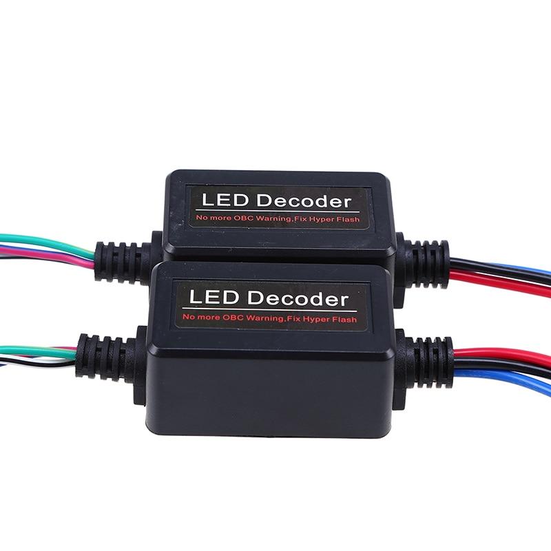 Supply 2x T20 7440 7443 Led Error Canceller Canbus Load Resistor Hyper Flash Decoder Or 50% OFF Solarenergie Erneuerbare Energie