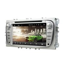 "4 ГБ Оперативная память Octa Core 7 ""Android 8.0 Автомагнитола DVD плеер для Ford Mondeo Tourneo Transit S- MAX GPS Bluetooth WI-FI USB 32 ГБ Встроенная память"