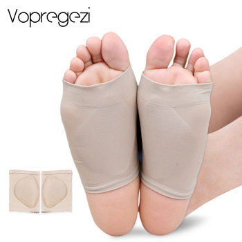2201cd5b Vopregezi vendaje silicona arco soporte zapatos almohadilla para pies  ortopédica plantillas de pie plano fascitis Plantar almohadillas para el  cuidado de ...