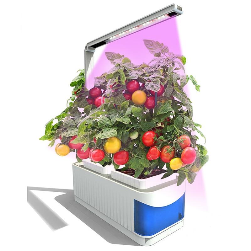 Растения растут лампы накаливания огни парниковых семена гидропоники цветок светодио дный овощей LED Фито растет свет с культурой коробка с...