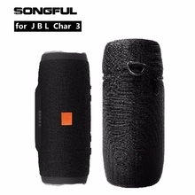 Column Speaker Case Cover for JBL Charge 3 Bluetooth Speakers Charge3 Box Storage Bag Pouch Carry Pouch Protective Neoprene Case