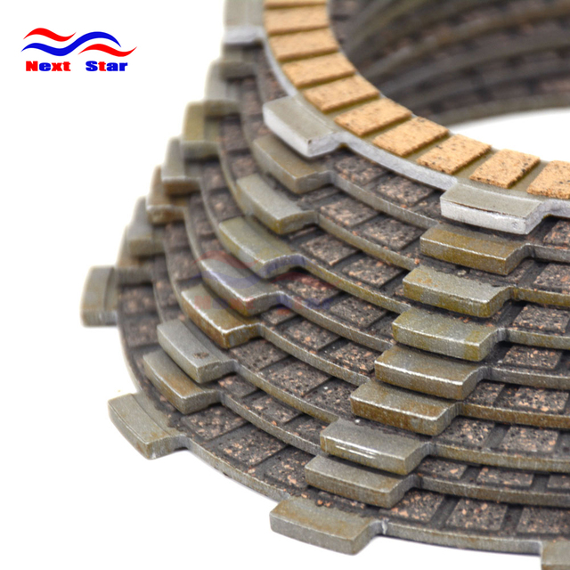9 Pcs Motorcycle Engine Parts Clutch Friction Plates Fit For HONDA CB1000RS CBR1000RA 09-16 CBR1000RR CBR1000RRA 08-16 CBR1000S