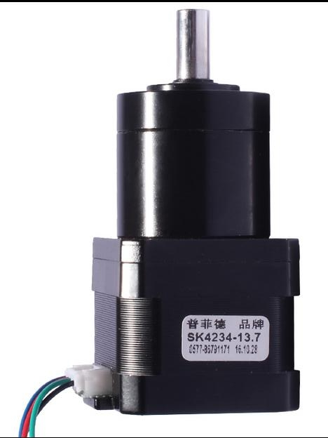 цена на New Best Gear ratio 51:1 Planetary Gearbox stepper motor Nema 17 1.7A Geared Stepper Motor 3d printer stepper motor