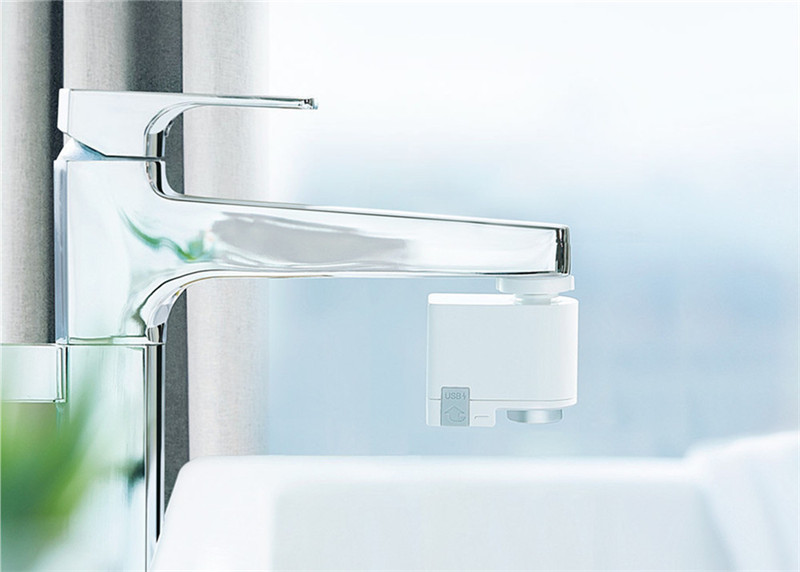 Image 5 - ZAJIA versión internacional Detección automática inducción infrarroja Dispositivo de ahorro de agua para la cocina baño fregadero grifoAccesorios de grifo de cocina   -