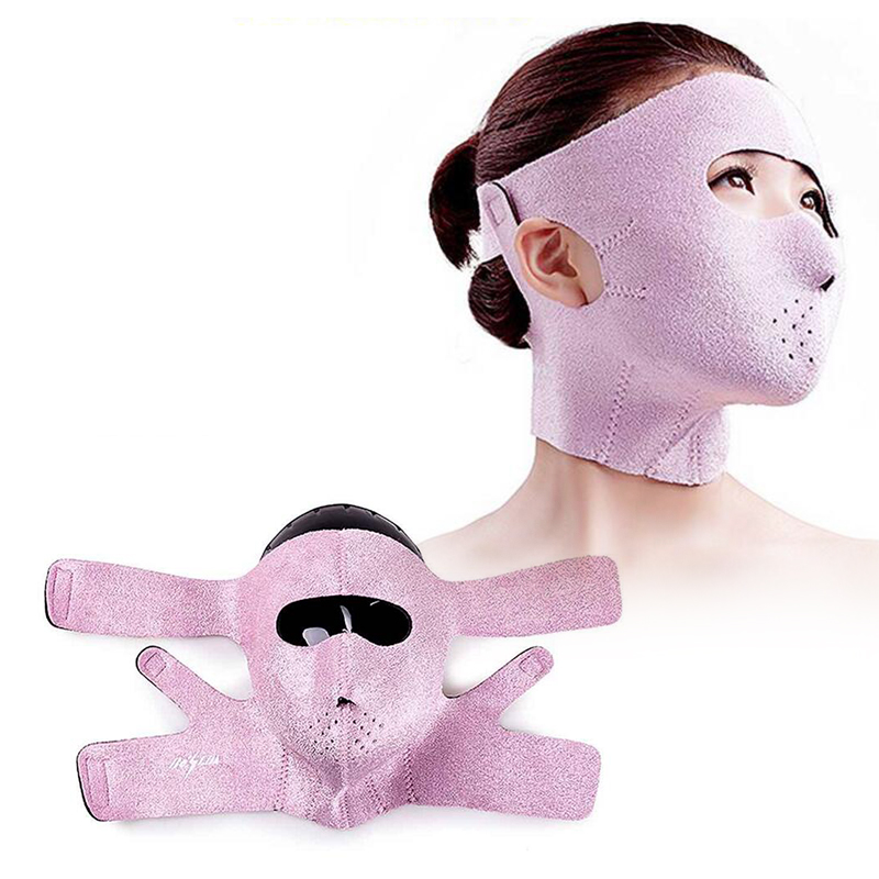 Face lift Mask Germanium Sauna Mask V face eliminate the nasolabial folds and firming skin mask