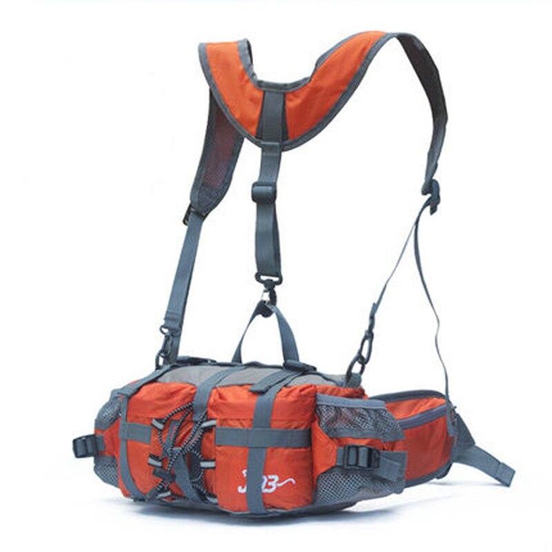 5L Multifonctionnel sacs pour la taille/sac à dos Vélo vélo Chasse tourisme nylon Étanche caméra extérieure téléphone sac à bandoulière