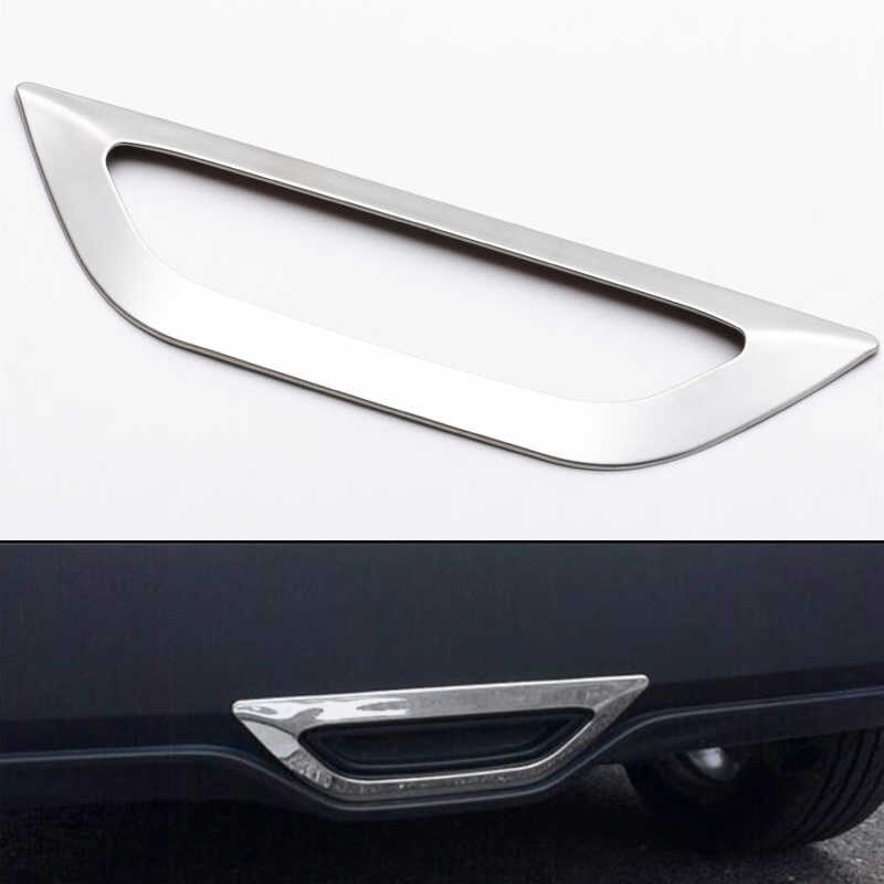 ABS Серебряный автомобиль задний стоп Свет Тормозная лампа декоративная отделка