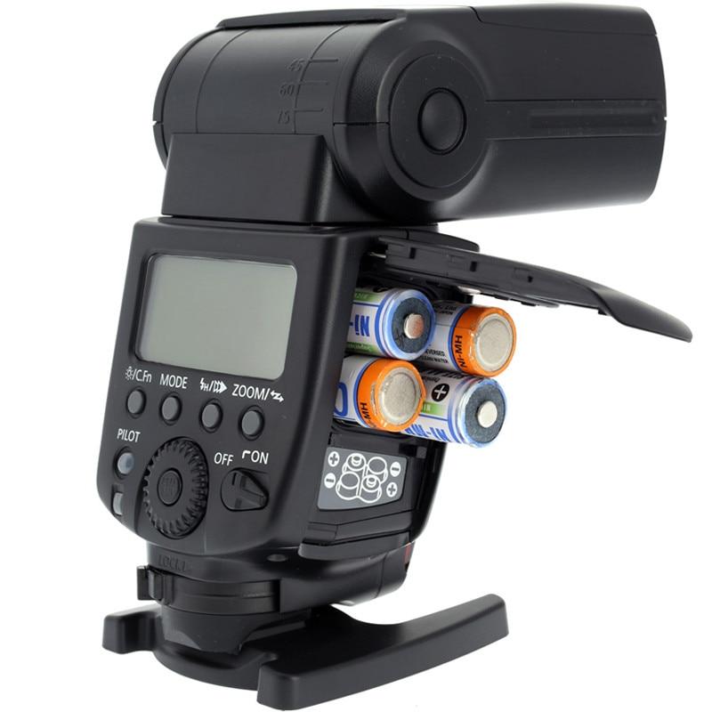 Meike MK-600 MK600 e-TTL II wireless Flash High Speed Sync Speedlight Speedlite for Canon 600EX for DLSR Camera Free Shipping ...