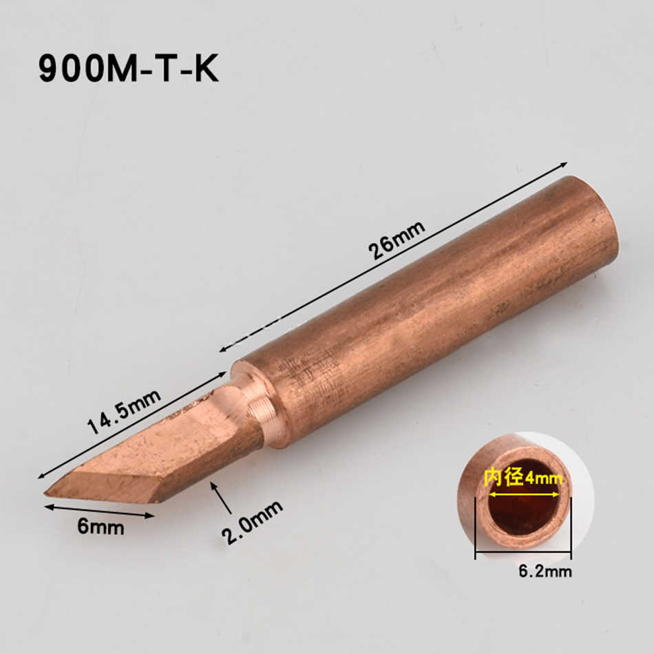 936 estação de solda cobre puro cabeça ferro de solda proteção ambiental longevidade temperatura constante solda elétrica