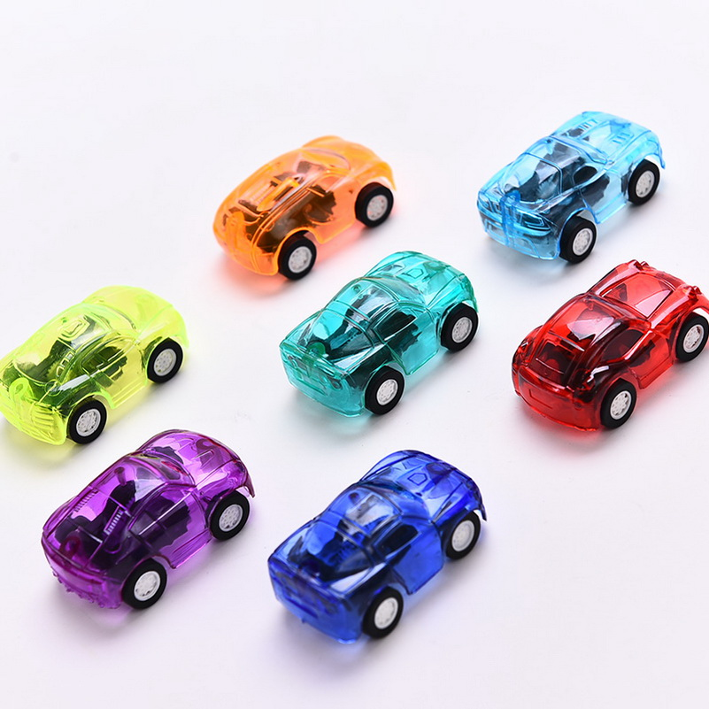 1pc Pull Back Mini vehicle Cartoon Car Kids Birthday Party Toys for Boys Funny Baby Kids Educational model Plastic toy gift