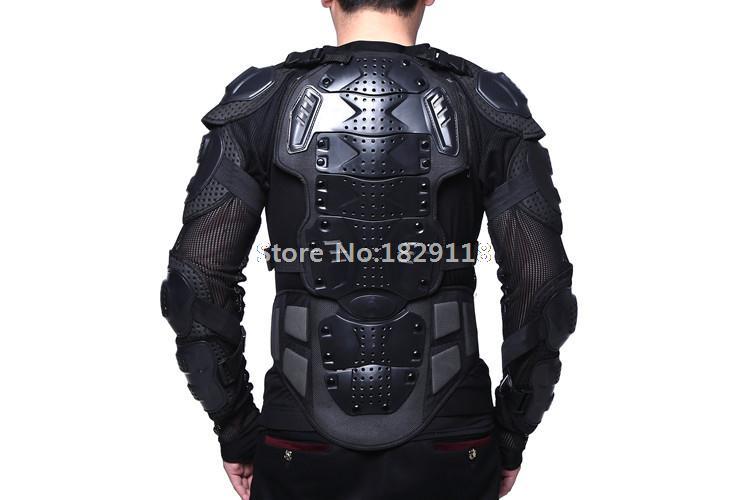 Veste armure moto vêtements d'équitation vélo motocross costume colonne vertébrale poitrine course cyclisme armure protection