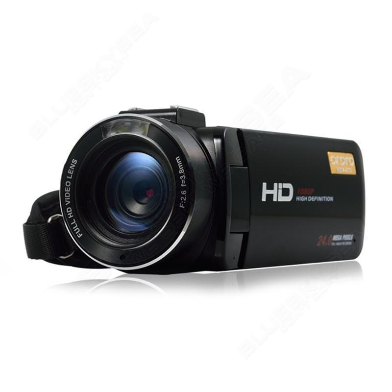 ORDRO HDV-Z20 Full HD 1080P Digital Video Camera 16X Zoom 3.0″ LCD Screen Camcorder with Wifi Remote Control Free shipping