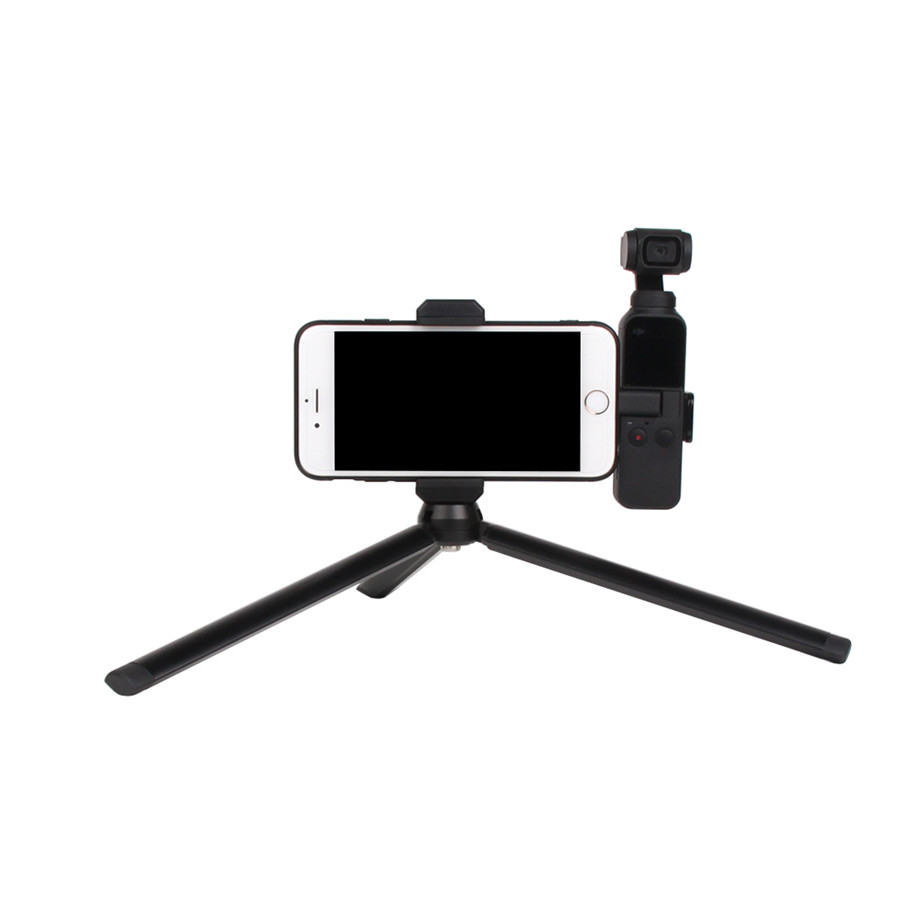 OSMO Pocket Smartphone Fixing Bracket Stand Clamp Extending Rod Tripod for DJI OSMO POCKET Gimbal Accessories 27