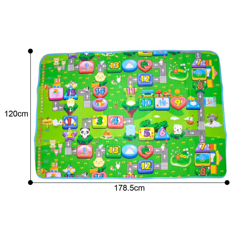 Funny Activity children puzzle mat baby for kids room carpet rug blanket learning educational toys for boys girls gifts 5