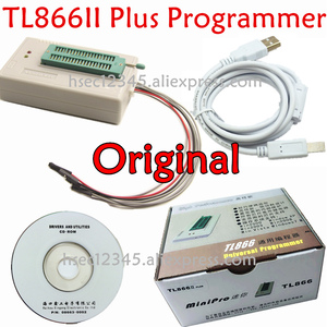 Image 5 - Programmatore Minipro universale TL866II Plus 100% originale con adattatori Clip di prova programmatore ad alta velocità TL866 PIC Bios