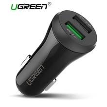 Ugreen QC2.0 Dual USB Car Charger