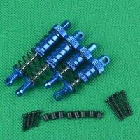 2 stücke 1/18 HBX 18856 18858RC Autos Hydraulische Metall Federung Vorne Hinten Stoßdämpfer für 1:18 Vier-rad Stick autos Upgrades