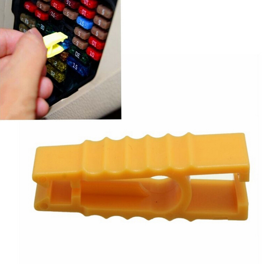 10Pcs Car Automotive Blade Mini Micro Fuse Puller Removal ATO Tool Extractor