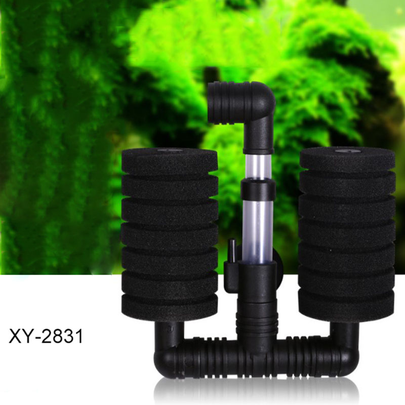Great Aquarium Bio Sponge Filter Fish Tank Shrimp Pond Air Pump Biochemical Filtration Noiseless Foam Aquarium Accessories
