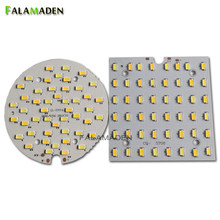 Tablero LED de doble color 3000 K 6000 K 6 W 9 W 12 W 18 W forma redonda y cuadrada 220-300mA 110LM/W SMD5730/5630 Epistar chips(China)
