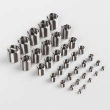 Durable Helicoil 10pcs M3-M12 Stainless Steel Thread Repair Insert Kit Hardware Hardness Fastener Tool Components Accessories(China)