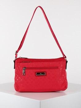 KISS & HUG big shoulder bag with small pockets