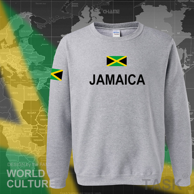 Jamaica hoodie men sweatshirt sweat new hip hop streetwear tracksuit nation footballer sporting country new flag JAM Jamaican 5