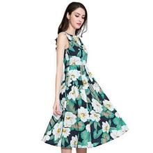 9ca3e040ec7 Marina Kaneva Plus Size M-4XL Summer 2018 vestidos Women Beach Dresses  sleeveless
