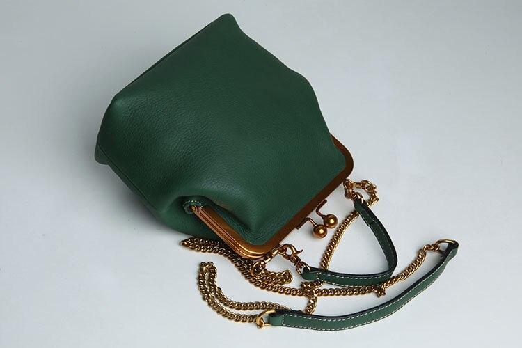 2019 new vintage bag women's handbags leather PU chain shoulder crossbody bags (6)