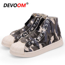 Men High Top Skateboarding Shoes Basket Femme Sneakers Women Unisex Camouflage Casual Sport Shoes zapatillas hombre deportiva 44(China)